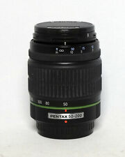 Pentax SMC 50-200mm 1:4-5.6 DA ED Zoom Lens Digital DSLR