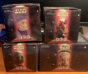 1999 Star Wars Episode 1 Lot of 4 Different Toys Taco Bell / KFC / Pizza Hut
