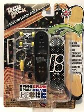 Tech Deck WOOD Competition Series FINGER BOARD Plan B