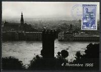 Italia 1966 Cartolina Maximum 100% Firenze Alluvione, Veduta-