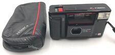 Yashica T AF Camera Carl Zeiss Tessar 3.5/35 Kyocera & strap with OEM case