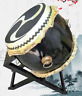 Tibetan buddhist temple sacred ritual drum, ghost too drum, Japanese drum