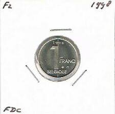 Belgium / Belgique french 1 franc 1998 BU - KM187