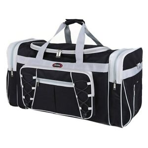 New Duffle Bag Extra Large Travel Gym Sport Shoulder Strap Mens Women Duffel Big