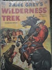 Zane Grey's Wilderness Trek Dell Comic Book #333 52 pages 1951 Magazine Vintage