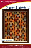 Paper Lanterns Quilt Pattern by Cozy Quilt Designs