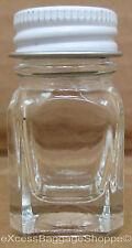 Testors - 1/4 OZ Empty Glass Paint Bottle