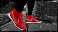 NIKE MAGISTAX PROXIMO IC Football Flyknit Trainers Shoes UK Size 11 (EUR 46) Red