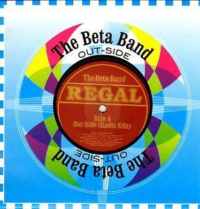 "THE BETA BAND out-side (uk 2004) 7"" PS EX+/EX REG 110 alternative rock leftfield"