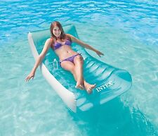 Pool Swimming Float Large Inflatable Swimline Floating Lounge Raft Chair Water