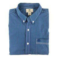 Tommy Hilfiger Men/'s New York FIT Blue Lightweight Button Down Shirt C8878