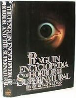 The Penguin Encyclopedia of Horror and the Supernatural Hardcover Jack Sullivan