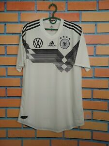 Germany Jersey Authentic 2018 2019 Home Size 7 Shirt Adidas DY8791