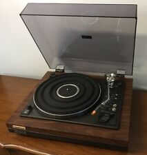 Pioneer PL-55DX Direct Drive Turntable Acutex 310 Cartridge Working See Video