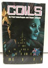 Coils Science Fiction by Fred Saberhagen Roger Zelazny Ron Miller 1982 Hardcover
