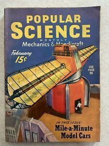 Popular Science Magazine February 1940