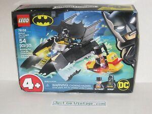 LEGO 76158 Batboat The Penguin Pursuit! 54pcs Set DC Batman NEW, Minor Box DMG