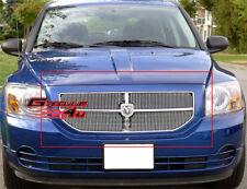 Fits 2006-2011 Dodge Caliber Vertical Billet Main Upper Grille Insert