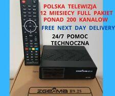 POLSKA TELEWIZJA Z DEKODEREM SAT ZGEMMA H9.2S 4K Z WiFi 12 MIESIECY FULLPAKIET