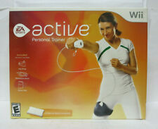 Nintendo Wii EA Sports ACTIVE Personal Trainer Leg Strap Resistance Set And Disk