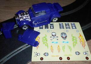 Rare Scalextric Demolition Derby 'Lego' car. Make it - break it - rebuild it