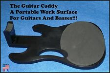 Guitar Caddy Work station, Work bench, Guitar Portable Work station Bench.
