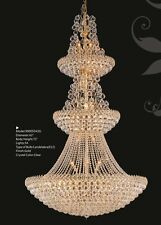 "Palace Firework 54 light 72"" Crystal Chandelier Gold Lamp Precio Mayorista"