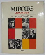 BOUBAT Edouard. Miroirs. 83 portraits d'écrivains par Boubat. Paris, 1973.