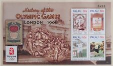 PALAU 2008 MNH** Sheet, History of Olympic Games, Beijing Sports Stamps