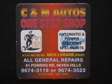 C & M AUTOS ONE STOP SHOP 61 POWERS RD SEVEN HILLS 96743119 COASTER