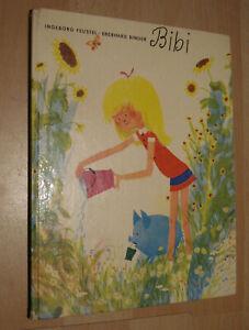 Bilderbuch DDR BIBI Geschichte mit dem himmelblauen Schweinchen Jo / I.Feustel