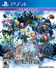Playstation 4 - World Of Final Fantasy Brand New Sealed