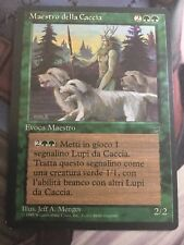 Mtg, Master Of The Hunt. Italian Legends Rare.
