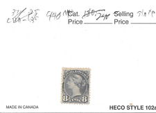 CANADA YOUNG VICTORIA SCOTT 44B MINT HINGED.