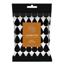 5-Pack Fazer Lakritsi - Soft Caramel - Finnish Black Liquorice Candy Bag 150g