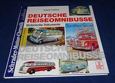 Schrader-Motor-Chronik Gebhardt - Deutsche Reiseomnibusse Historische Dokumente
