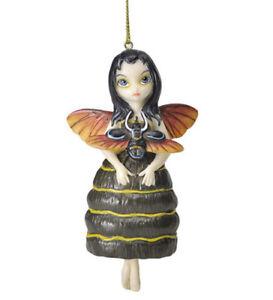 # New JASMINE BECKET GRIFFITH Fairy Ornament BEETLE WINGS Bug Fairie
