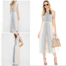 New NWT Free People Moab Jumper Cotton Button Side Endless Summer Jumpsuit XS