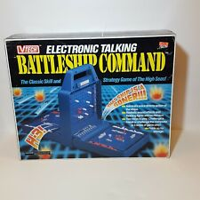 Electronic Talking Battleship Vtech Command Game Complete Tested Works
