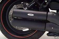 H-D V-Rod Baffled Black Inner Roll Slip-on Exhaust (111-2210)