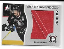 05 06 ITG Heroes & Prospects Dion Phaneuf Silver Jersey 1 of 100