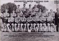 COLCHESTER UNITED FOOTBALL TEAM PHOTO>1965-66 SEASON
