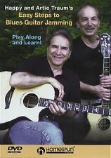 Easy Steps To Blues Guitar Jamming Learn to Play Lesson Tutor Music DVD