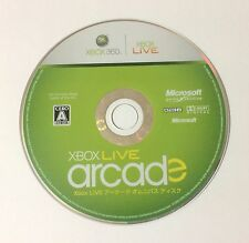 USED XBOX360 Game Disc Only XBOX LIVE arcade Omnibus Disk JAPAN import XBOX 360