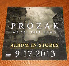 Prozak We All Fall Down Poster 2-Sided Flat Square 2013 Promo 12x12 Rap RARE