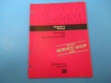 John Deere Operators Manual Om-Ga11161 863 Agricultural Bulldozer Issue H6 M5099