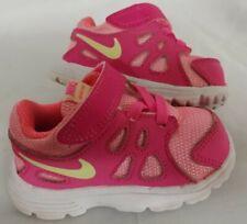 Nike Revolution 2 TDV 555092-100 Toddler Girls Shoes Pink Yellow Size 4C