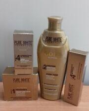 pur WHITE GOLD lait /serum/tube crème super correcteur de teint et anti-age
