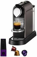 Nespresso Citiz Coffee Machine by Krups - Titanium **Brand New Boxed**