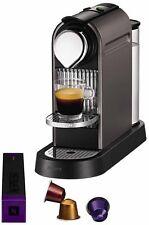 NESPRESSO Citiz Macchina del Caffè KRUPS-Titanio ** Brand New Boxed **